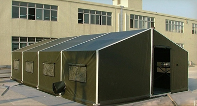 Emergency relief tents