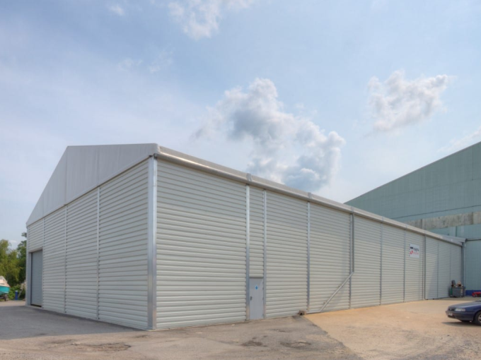 Production Warehouse tent
