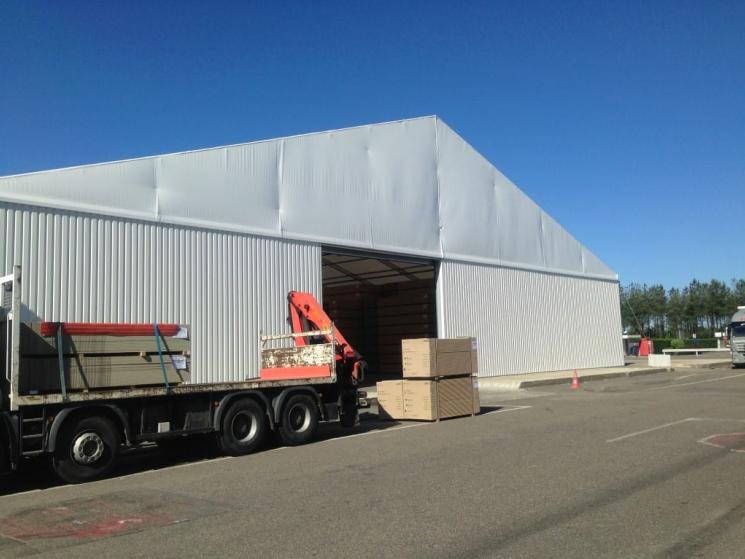 Modular Building Additional Storage