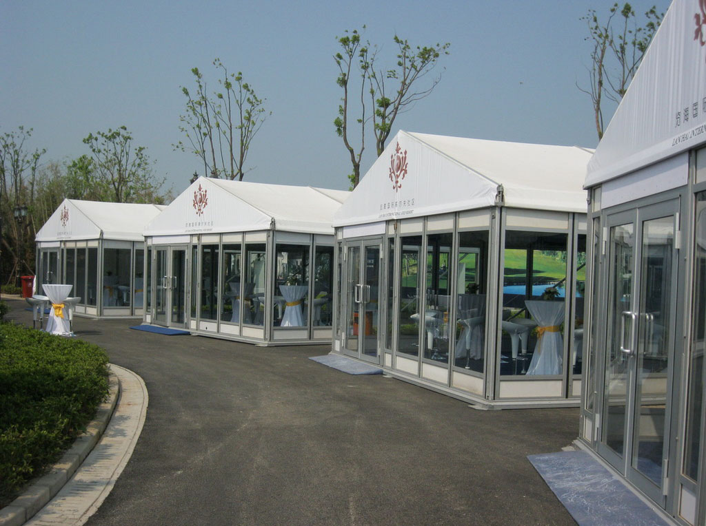 Full transparent glass tent for sale