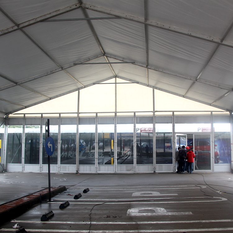 Customized car show tents for the auto show