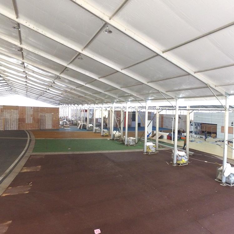 the aluminum alloy hangar tent