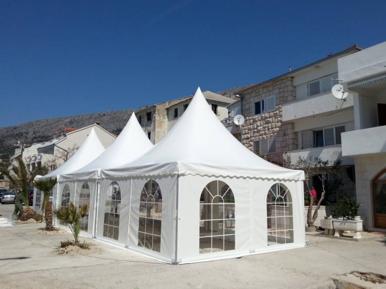 Pagoda Tent used for Local Events
