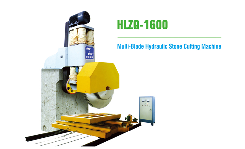 Multi-Blade Hydraulic Stone Cutting Machine