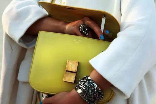 赛琳classic box包包时尚达人的搭配必选款