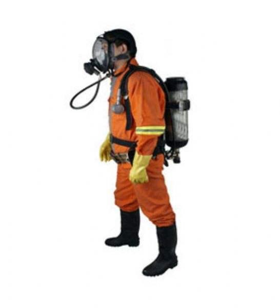 正压式空气呼吸器佩戴方法