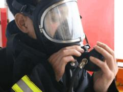 空气呼吸器全面罩的注意事项