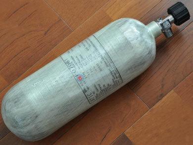 空气呼吸器气瓶外观检查
