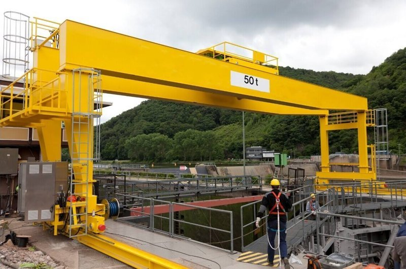 gantry crane structure