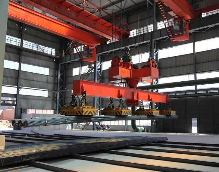 magnetic bridge crane