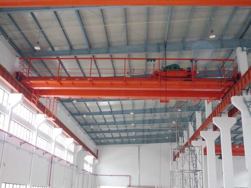 double hook overhead crane