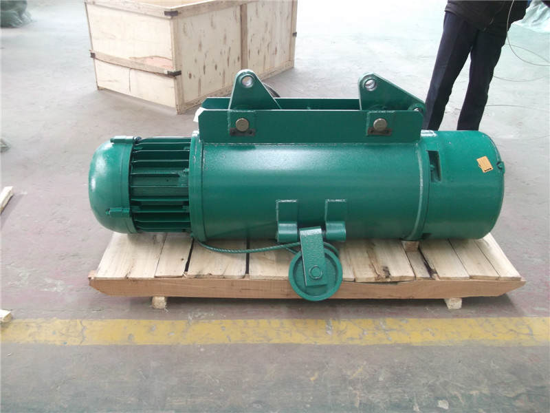Wire rope electric hoist design and application