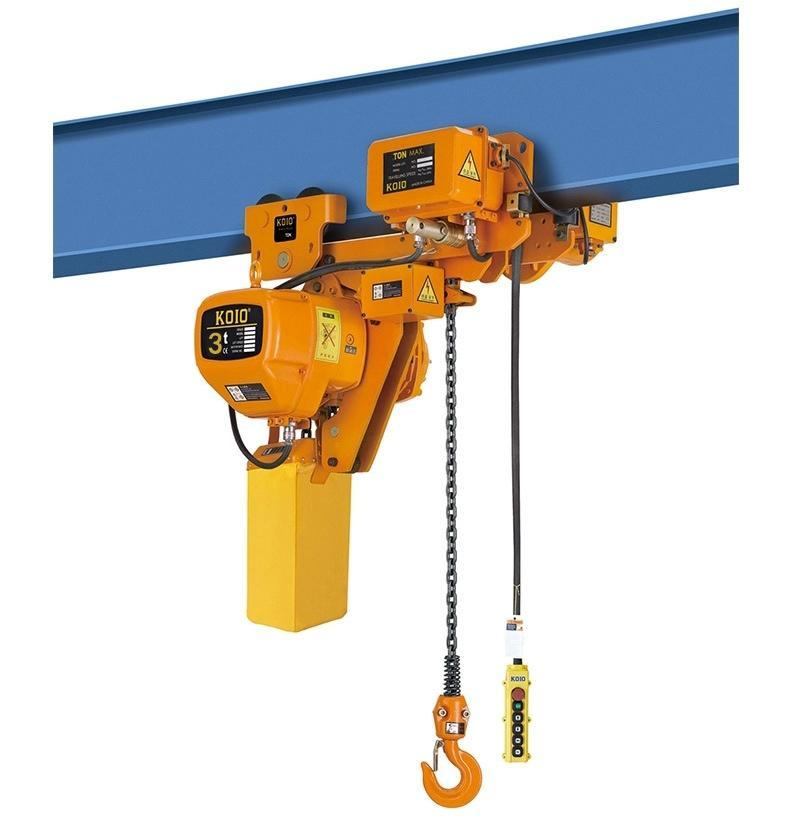 Chain electric hoist chain maintenance misunderstanding