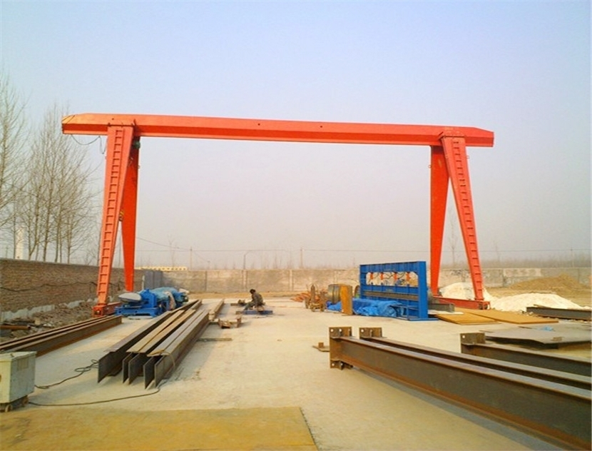 Principle the gantry crane track