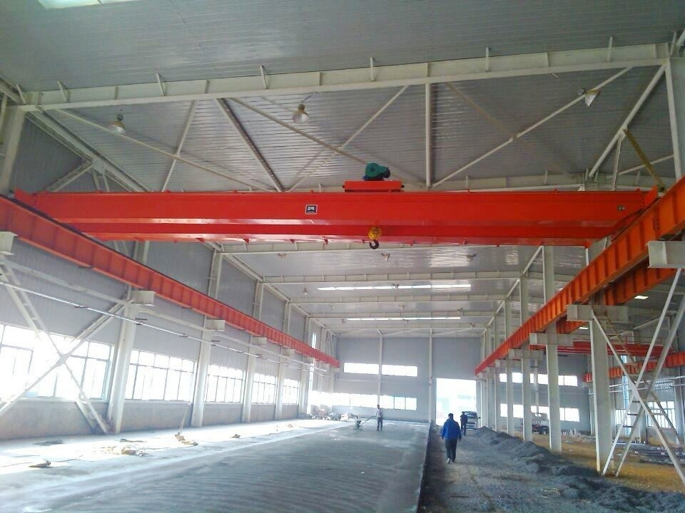 Single beam cranes unload test requirements