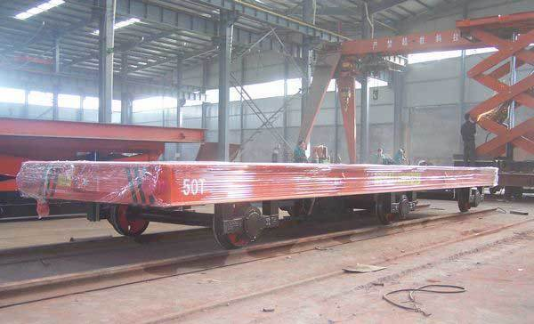 rail transfer cart