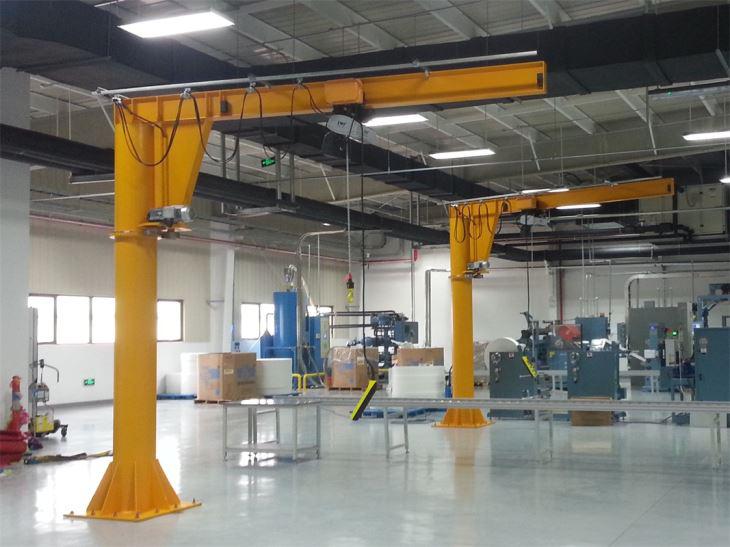 Floor Column Mounted Jib Crane