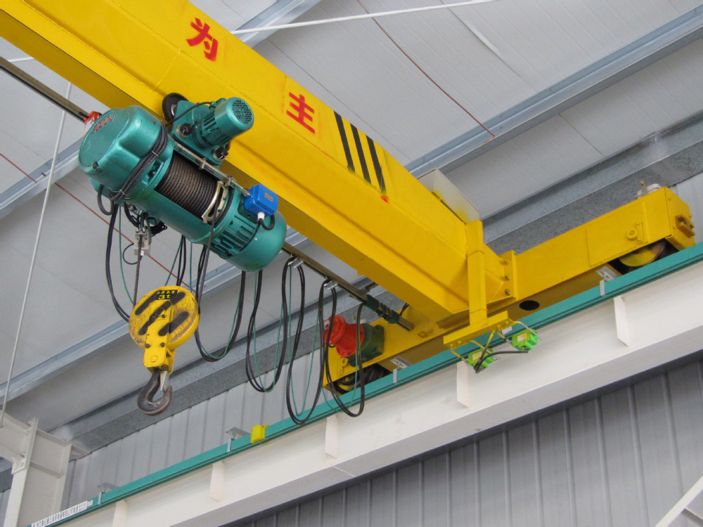 LD Single Girder EOT Crane