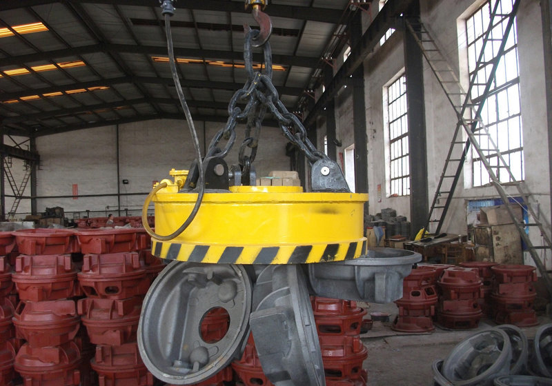 magnetic bridge crane