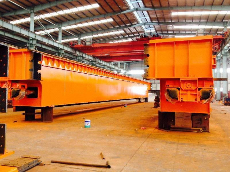 Metallurgy Casting Double Girder Overhead Crane