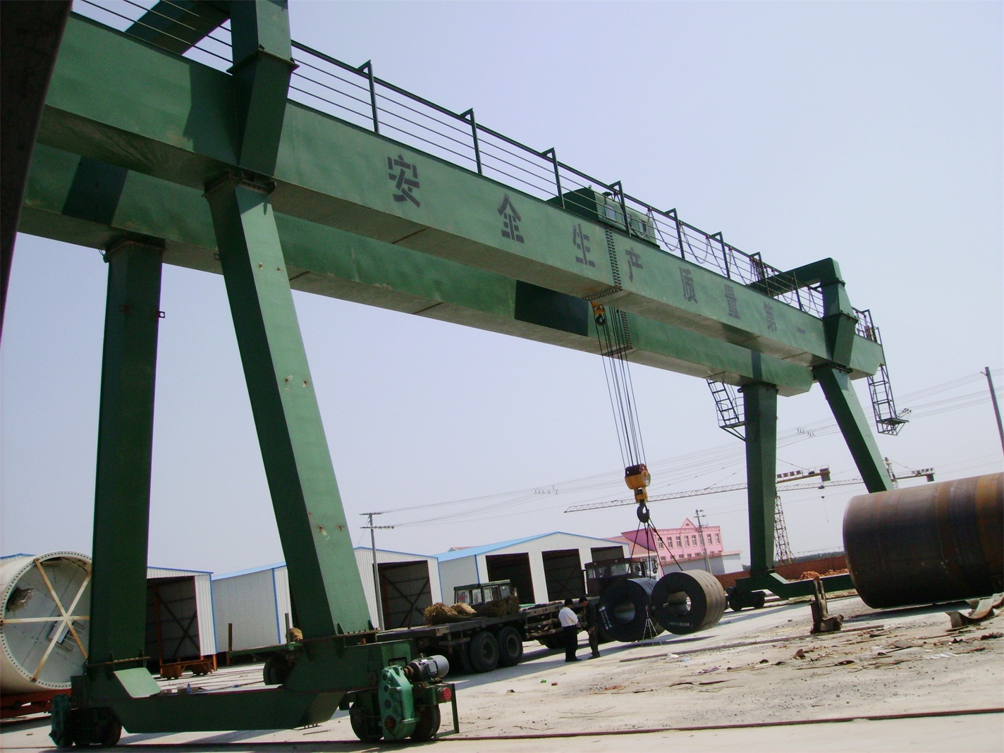 MG Outdoor Lifting Double Beam Gantry Crane