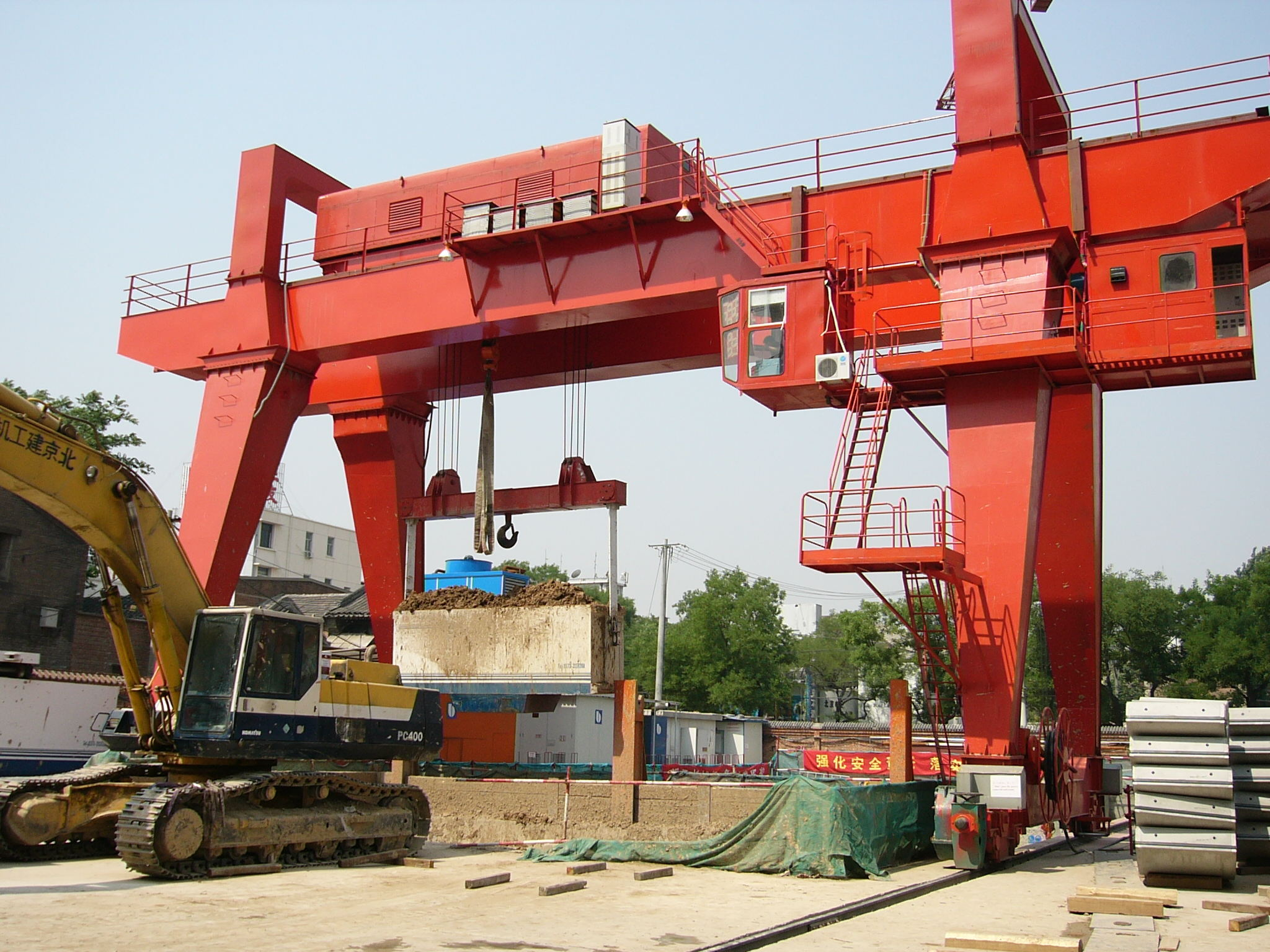 Double Beam Gantry Crane Manufacture