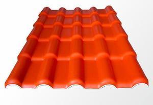 ASA合成树脂瓦橙色