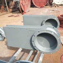 手动单向插板阀厂家-手动单向插板阀型号