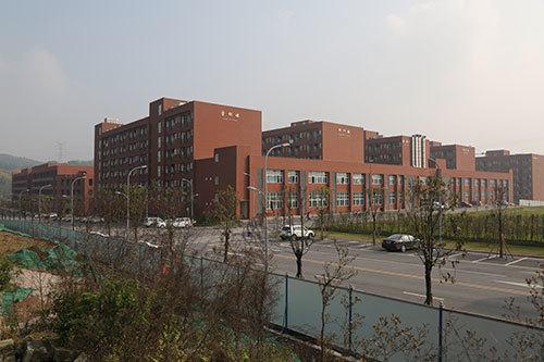 学生公寓楼群