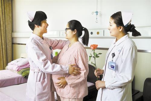 护士与患者