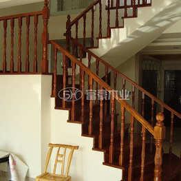 富豪楼梯榉木水泥楼梯