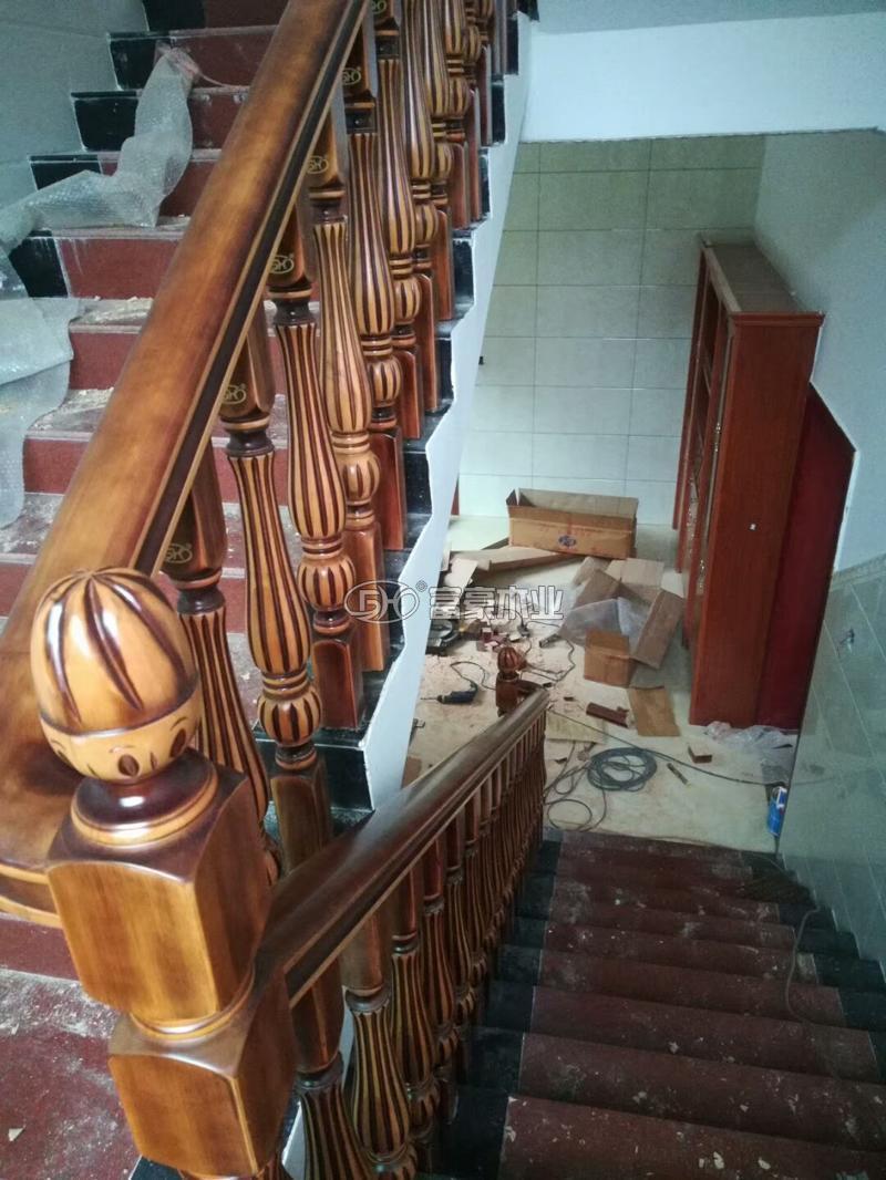 富豪樓梯扶手復古仿舊風格
