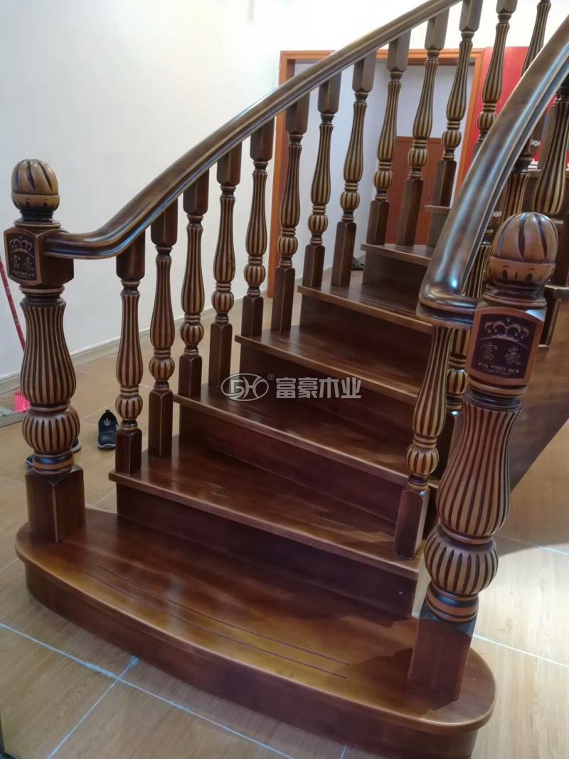 富豪樓梯櫸木樓梯扶手