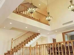 40款经典实木楼梯,演绎世纪新贵族