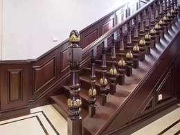 实木楼梯的油漆工艺决定质感和美感!