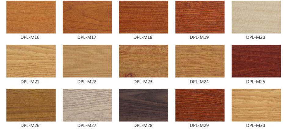 德普龙专业生产木纹铝单板
