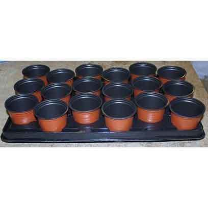 Terracotta Plastic Flower Pots Wholesale price