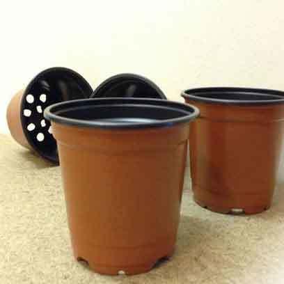 7Inch Plastic Plant Pots Wholesale