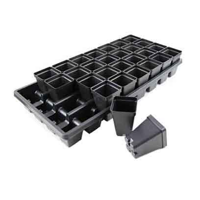 Cheap Square Plastic Plant Pots UK