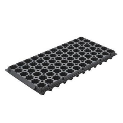 Cheap Black Plastic 72 Cell Trays Wholesale Supplier