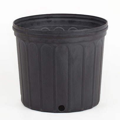 Black 3 Gallon Nursery Pots Wholesale Price