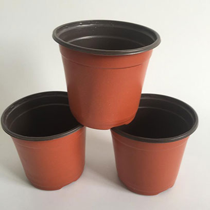 Small Flexible Plastic Plant Pots Wholesale