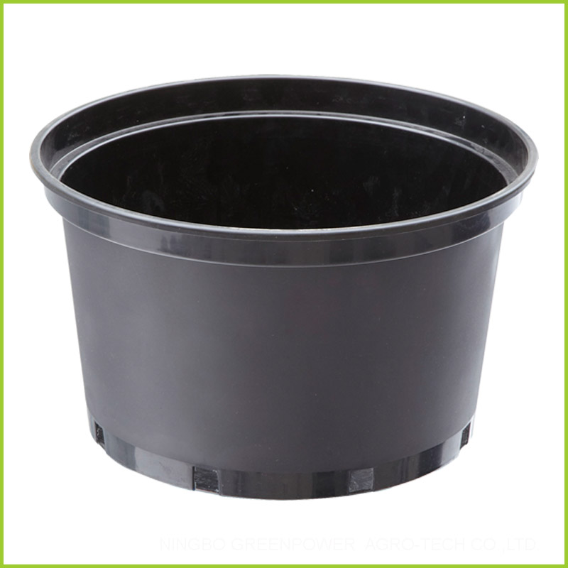 Cheap Black 3 Gallon Plastic Pots In Bulk