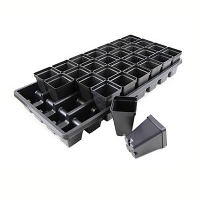 Black Plastic Nursery Pots In Bulk