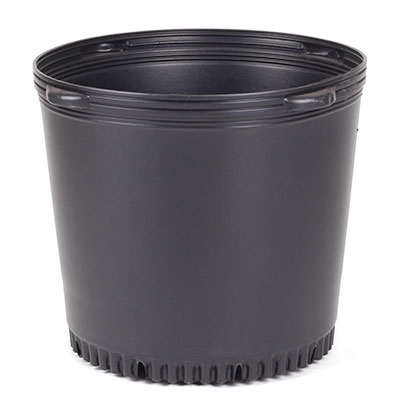 Bulk Buy Large Black Plastic Plant Pots