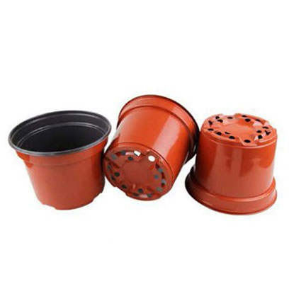 Bulk Buy 7 Inch Terracotta Plastic Plant Pot