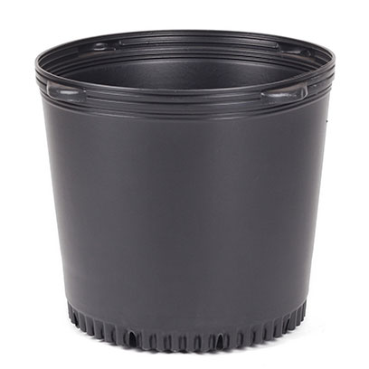 Bulk Buy 20 Inch Large Black Plastic Planters
