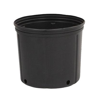 Cheap Black Plastic Garden Flower Pots For Sale