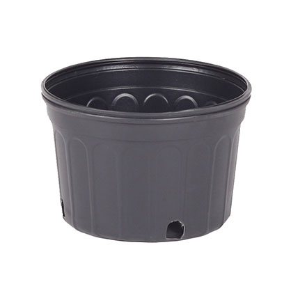 Black Plastic 2 Gallon Nursery Plant Containers