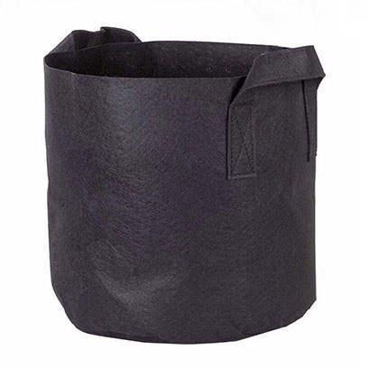 Black 1 Gallon Fabric Grow Bags Wholesale Canada